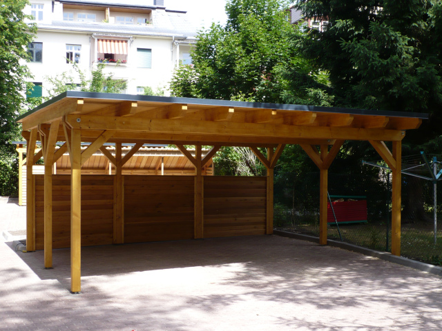 Open Double Carport Designs : Stylish home design ideas wooden carport plans